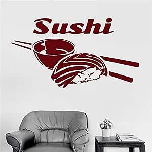 Etiqueta de Sushi Etiqueta de la Comida Cartel de Vinilo ...