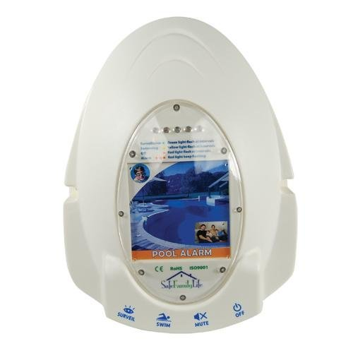Pool Alarm Electronic Monitoring System.
