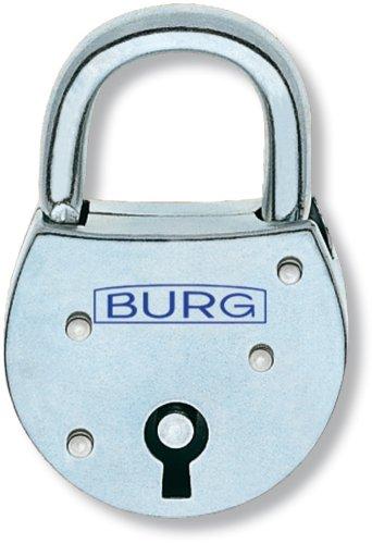 Burg wächter 630 - Candado 7x25,5x24,5mm cerradura gorjas inoxidable: Amazon.es: Bricolaje y herramientas
