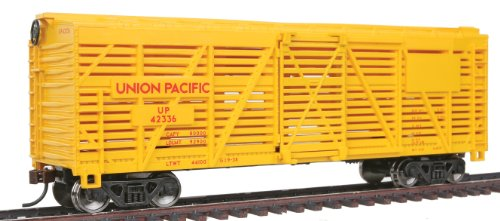 - Walthers Trainline 40' Stock Car with Metal Wheels Ready to Run Union Pacific