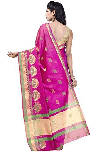 Chandrakala-Womens-Pink-Art-Silk-Banarasi-Saree1175PIN