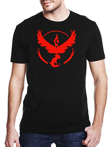 TEAM-VALOR-Gaming-T-shirt-Pokemon-GO-T-shirt-Unisex-Adults-Geek-Nerd-T-shirt-Mens-Comedy-T-Shirt