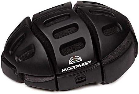 Casco bicicleta plegable Morpher negro mate: Amazon.es: Deportes y ...