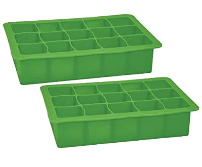 green sprouts Silicone Freezer Tray, Green, 2-Pack by GREEN SPROUTS that we recomend individually.