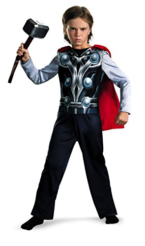 Thor Marvel Avengers Child Costume Cape S 6 NIP]()