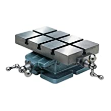 "Palmgren Dual cross slide table, 6"" x 10"""
