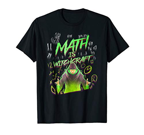 Funny Math Teacher Halloween T-Shirt - Math is