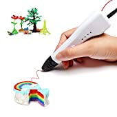 Soyan 3D Printing Pen for Kids, Suitable for Doodling, Art & Craft Making and 3D Modeling, Compact Size and Light Weight