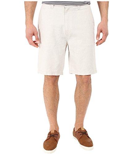 Nautica Men's Flat-Front Deck Short, Wheat Flax, 42W ()