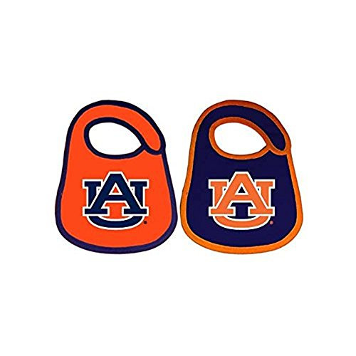 Auburn Tigers Baby Bibs: 2 Pack [Baby Product]
