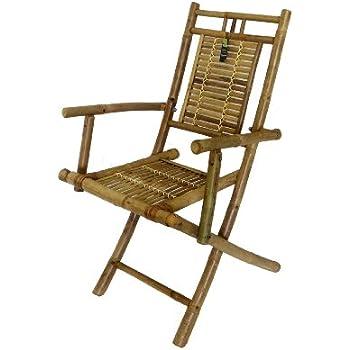 Amazon Com Vifah V157 Outdoor Wood Folding Lounge