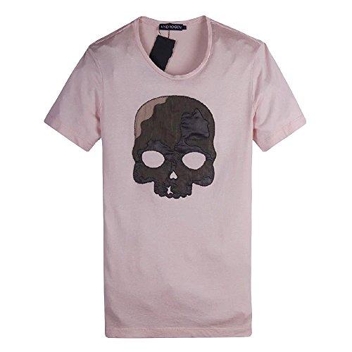 ハイドロゲン HYDROGEN Tシャツ 半袖 丸首 メンズ カジュアル トップス インナー スポーツ ゴルフSKULL T-SHIRT