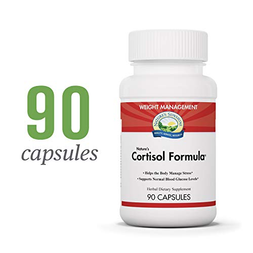 Nature's Sunshine Cortisol Formula, 90 Capsules | Adrenal Support Supplements for Men and Women to Help the Body Manage Stress and Maintain Healthy Cortisol Levels Review