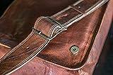 18 inch Leather Full Flap Messenger Handmade Bag