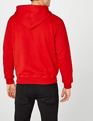Da Bekleidung Uomo Rosso Classics Pullover red Felpa Urban vIqUwxS