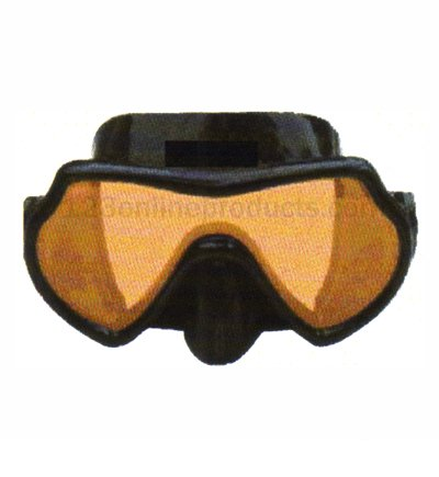 SeaDive Oceanways Superview-HD w/Anti-UV/Glare Optical Multicoating w/Anti-Fog Scuba/Spearfishing Dive Mask (OM940BKSFF)