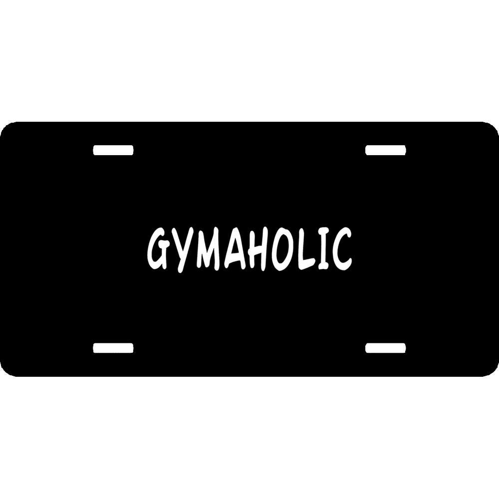 Personalized Auto Car Front Tag Sign 4 Holes Aluminum Metal License Plate Cover 12 x 6 Inch