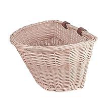 cesta mimbre blanca
