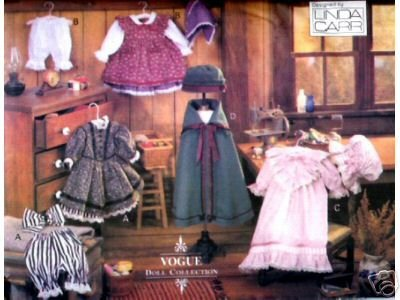 Vogue 8337 - Early American Doll Clothes, Sewing Patterns for 18-Inch Dolls (Vogue Doll Collection, Also sold as Vogue 429)