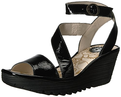 sale online cheap FLY London Women's Yesk Wedge Pump Black Damani cheap popular with paypal low price Cheapest for sale popular JKYxp3Q
