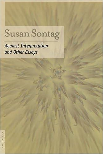 Image result for against interpretation susan sontag
