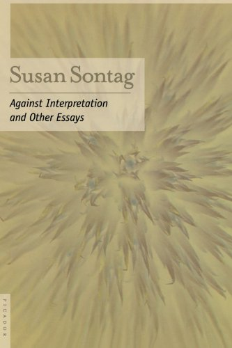 Against Interpretation: And Other Essays [Susan Sontag] (Tapa Blanda)