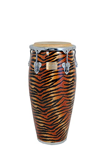 Tycoon Percussion 10 Inch Master Fantasy Tiger Series Requinto With Single Stand by Tycoon Percussion