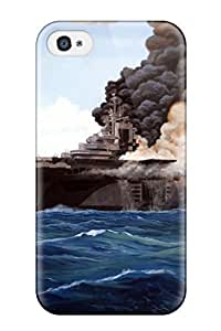 AGGBCGw2095kVmNE Faddish Aircraft Carrier Case Cover For Iphone 4/4s