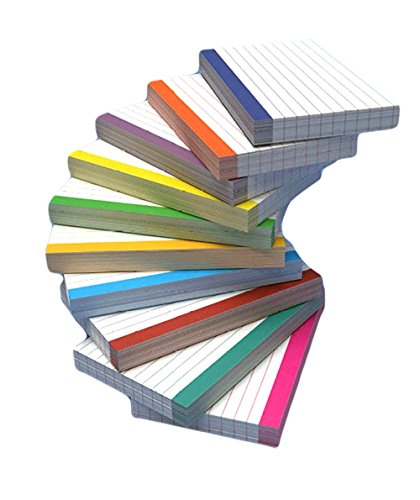 4 Bar Card Size - DEBRADALE DESIGNS - 500 Color Bar Ruled 4