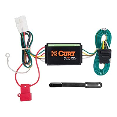 CURT 56040 Vehicle-Side Custom 4-Pin Trailer Wiring Harness for Select Subaru Forester, Outback, Sport, XV Crosstrek: Automotive