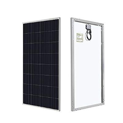 HQST 150W 12V Poly Solar Panel 150 Watt Off Grid PV Power RV Car Boat Home Cabin