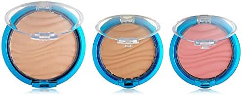 Physicians Formula Mineral Wear Flawless Airbrushing Kit, Light Complexion SPF30 - Airbrushing Loose Powder: 0.26oz, Airbrushing Bronzer: 0.11oz & Airbrushing Blush: 0.11oz