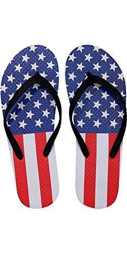 Slr Marca Mens Bandiera Americana Infradito Infradito In Gomma Usa Sandalo Infradito Sandalo Per Uomo Bandiera Americana 4
