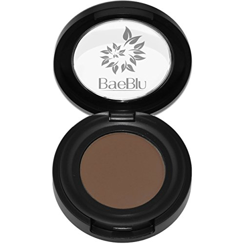 Best Organic 100% Natural Vegan Eyeshadow Makeup, Made in USA, Finely Pressed Velvety Smooth Eyeshadow Pigment by BaeBlu, Bark