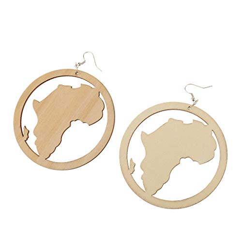 Fashion DIY Unfinished Wooden Earrings Mixed Shaped Cutout Drop Hook Earrings Necklace Jewelry Crafting Key Chain Bracelet Pendants Accessories Best| Type - #2