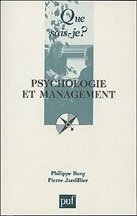Psychologie et management par Philippe Burg