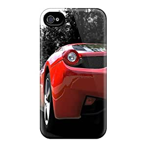 DLBuke Iphone 4/4s Hybrid Tpu Case Cover Silicon Bumper Iphone Wallpaper
