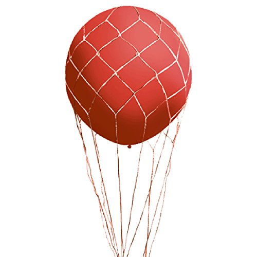 Loftus Party Supplies Hot Air Balloon Net for 3' Balloons, White -