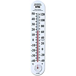 Learning Advantage 7635 Indoor/Outdoor Classroom Thermometer