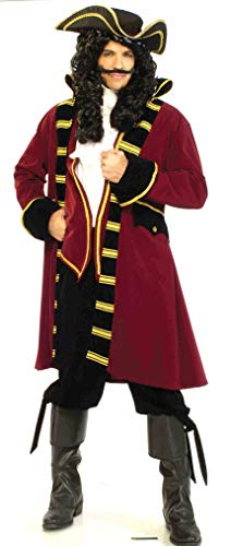 Forum Designer Deluxe Pirate Captain Costume, Multi,