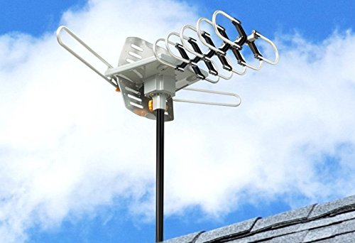 Esky Hdtv Amplified Antenna By 2 Tv Support Outdoor Tv