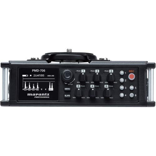 Marantz Professional PMD-706 96kHz 6-Channel DSLR Recorder
