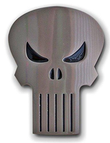 The PUNISHER Classic SKULL Logo Metal BELT BUCKLE ()