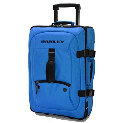 Oakley Men's Carry On Roller Electric Blue (Duffle Bag Oakley Rolling)