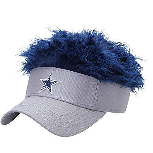 Dallas Cowboys Flair Hair Visor by Northwest, NFL