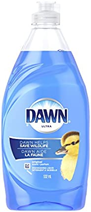 Dawn Ultra Dishwashing Liquid, Original, 532 mL