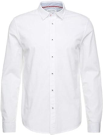 Pier One Camisa de Vestir para Hombres - Camisa Slim Fit ...