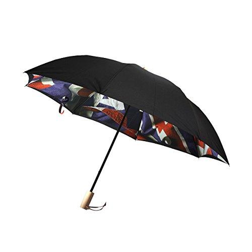 Paul Smith(ポール・スミス) ユニオンジャック 折りたたみ傘 (ブラック)の商品画像