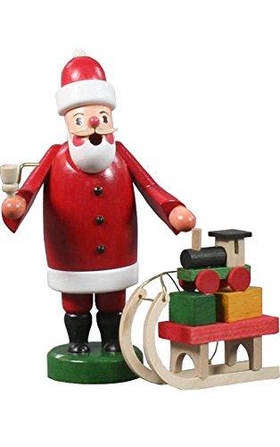 Alexander Taron Importer 136-081 Dregeno in cense Burner Santa Claus Pulling a Sled with Toys