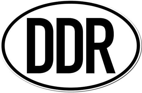 Greenit 2 Stück Aufkleber Sticker Länderkennzeichen Ddr Auto Pkw Bus Lkw Anhänger Zeichen Symbol Auto